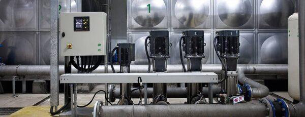 pompe industriale grundfos