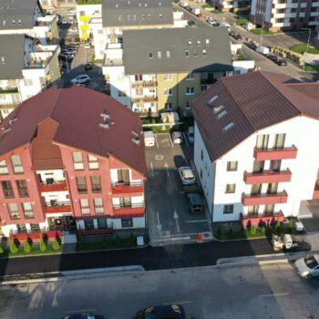 apartamente noi in blocuri stil vila contruite de Sinuhe Residence