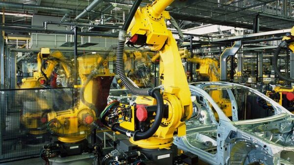 pompe industriale grundfos in industria auto