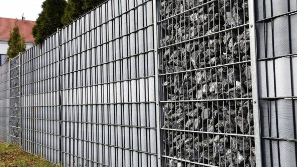 Gard metalic pentru exterior/strada