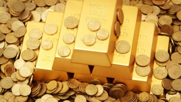 lingouri si monede din aur